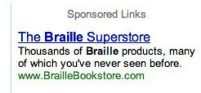 """Milhares de produtos """"Braille"""", muitos dos quais você nunca viu !?"""